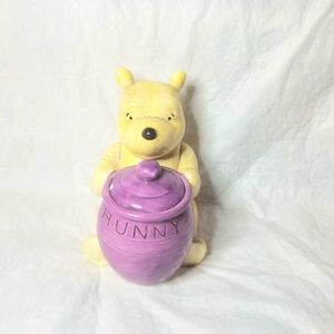 Disney Winnie The Pooh Porcelain Bank + Dish